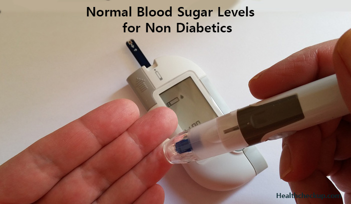 normal blood sugar levels for non diabetic1