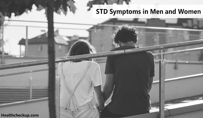 STD Symptoms in Men and Women and treatment