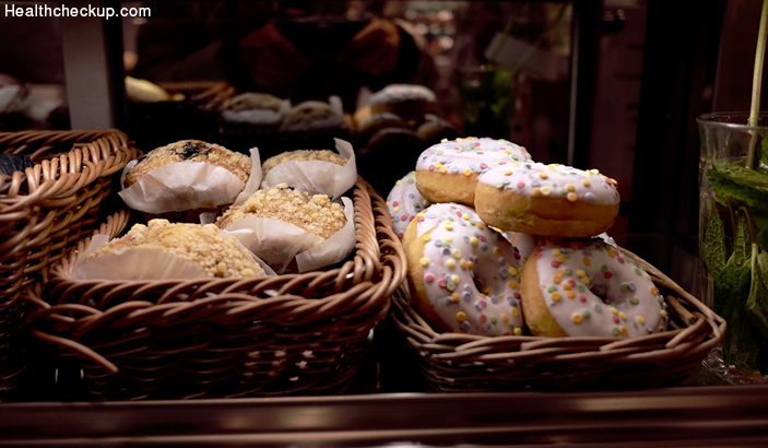 Donuts - Foods to avoid for high blood pressure