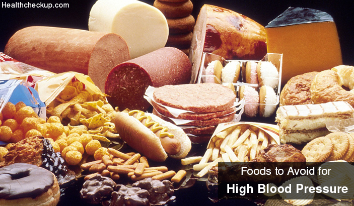 Foods to Avoid for High Blood Pressure