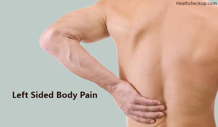 Left Sided Body Pain