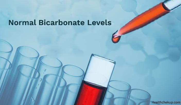 Normal bicarbonate levels