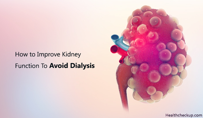 How To Improve Kidney Function To Avoid Dialysis?