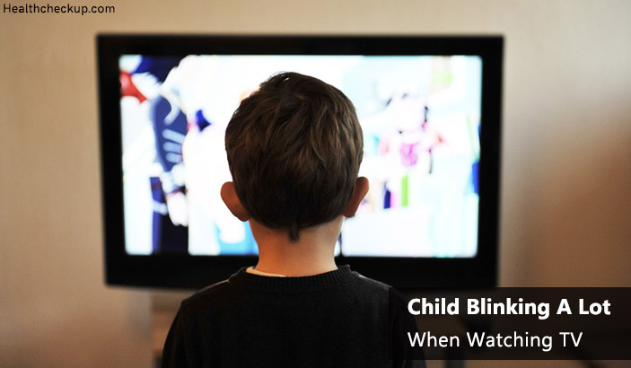 Child Blinking A Lot When Watching TV