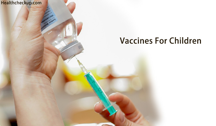 List of Vaccines For Children By Age