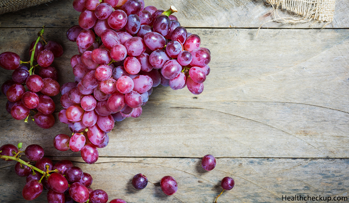 Grapes - Fruits To Avoid During Pregnancy If You Have Diabetes
