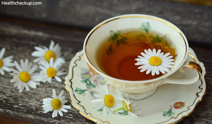 Chamomile Tea - Home Remedies For Feeling Nauseous