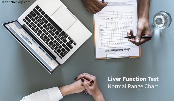 Liver Function Test Normal Values Chart