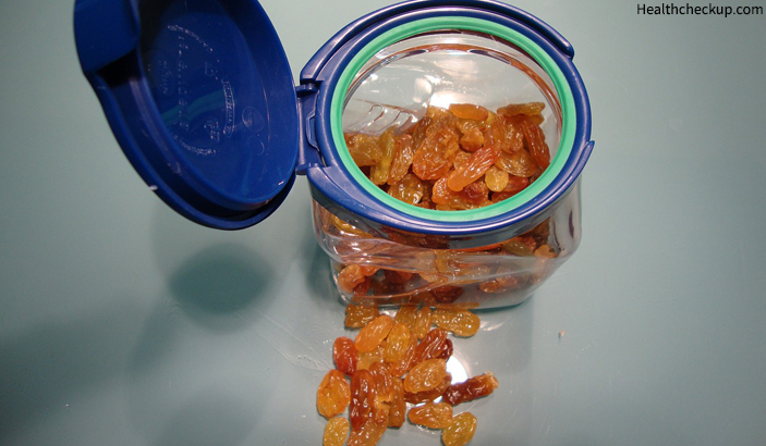 Raisin - Home Remedy For Fever in Babies