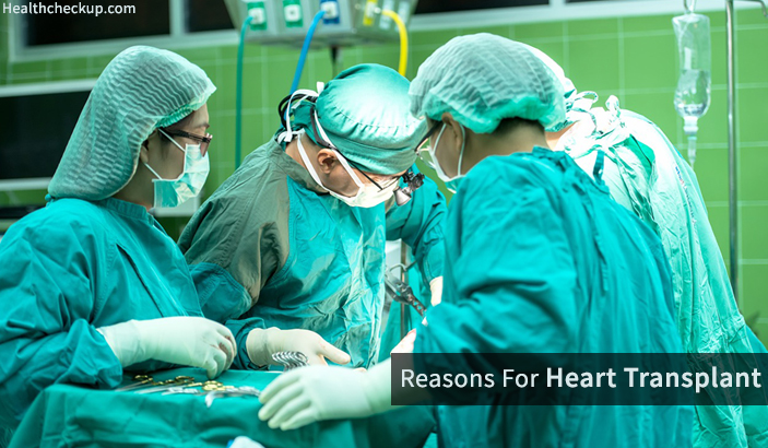 Reasons For Heart Transplant