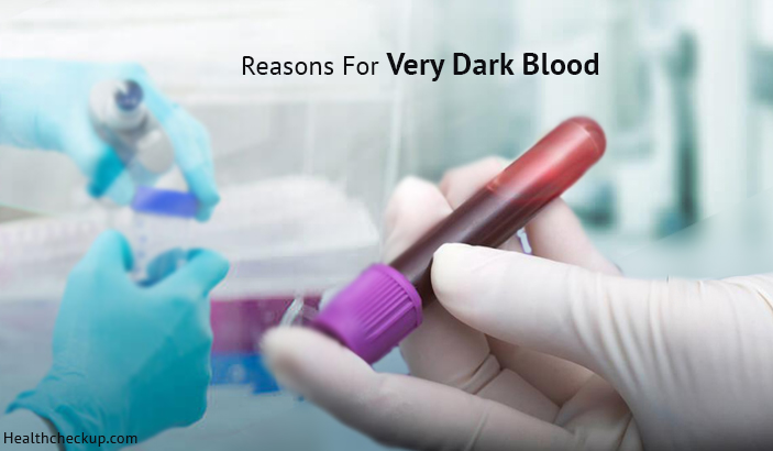 Why Is My Blood So Dark And Red?