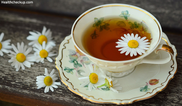 Vomiting and Diarrhea At The Same Time Home Remedy - Chamomile