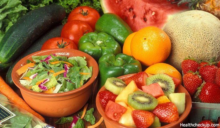 Fresh Fruits and Vegetables - Natural Remedy for Malignant Tumors