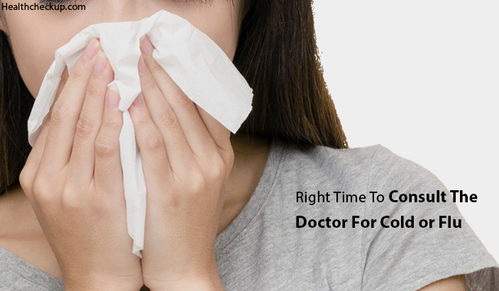 When Should I Go To the Doctor for a Cold or Flu