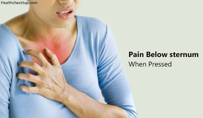 Pain Below Sternum When Pressed – What Could It Be?