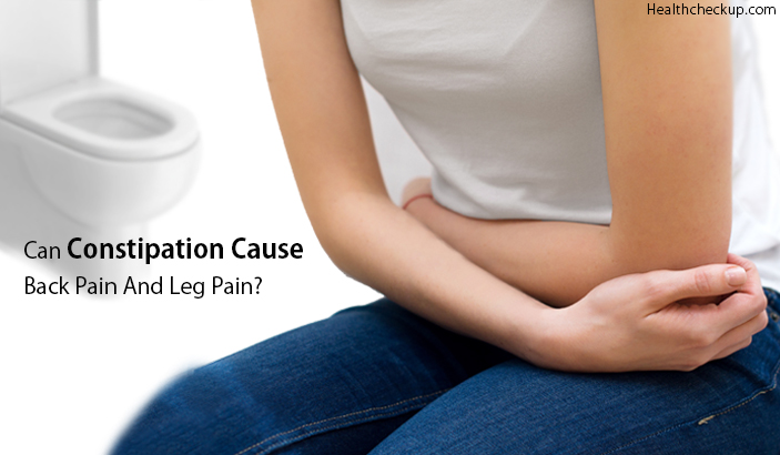 Can Constipation Cause Back Pain and Leg Pain
