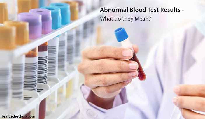 What Does Abnormal Blood Test Results Mean