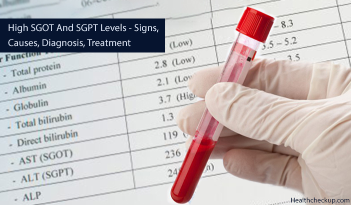 High SGOT and SGPT Levels – Symptoms, Causes, Diagnosis, Treatment