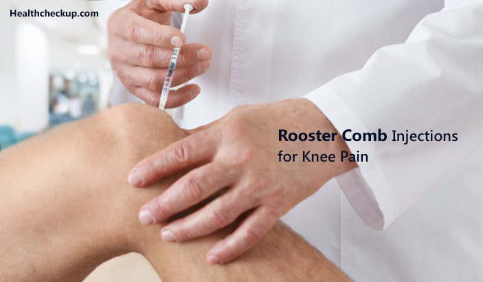 Rooster Comb Injections For Knee Pain