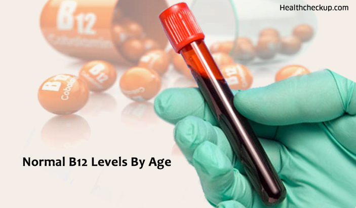 Normal B12 Levels By Age