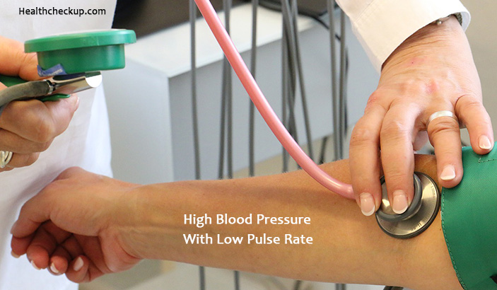 High Blood Pressure With Low Pulse Rate