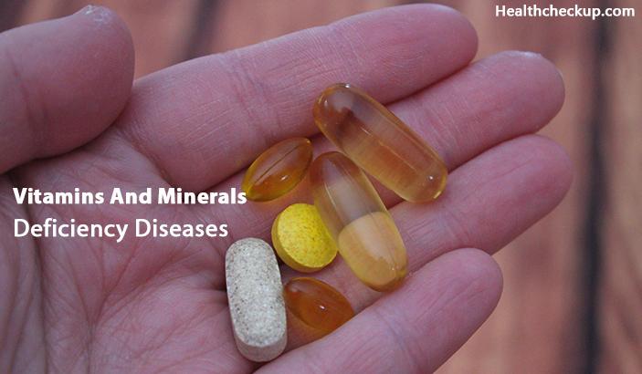 Vitamins And Minerals Deficiency Diseases