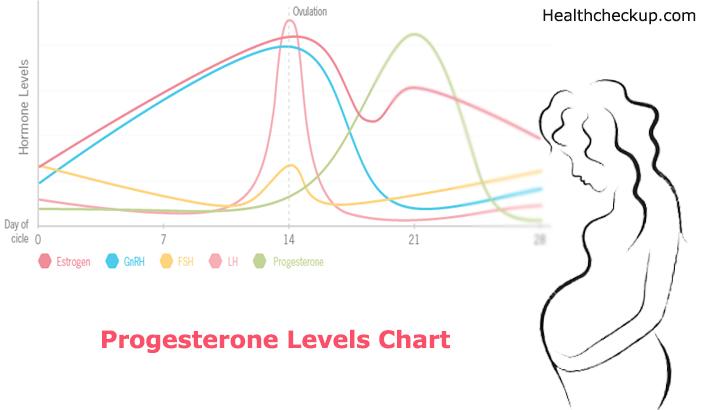 Progesterone Levels Chart